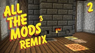 All The Mods 3 Remix Ep. 2 Best Early Game Tools