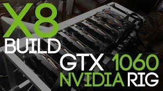 $3000 Mining Rig Build, 8x GTX1060 3GB Build + Performance (ETH/ZEC/XMR)