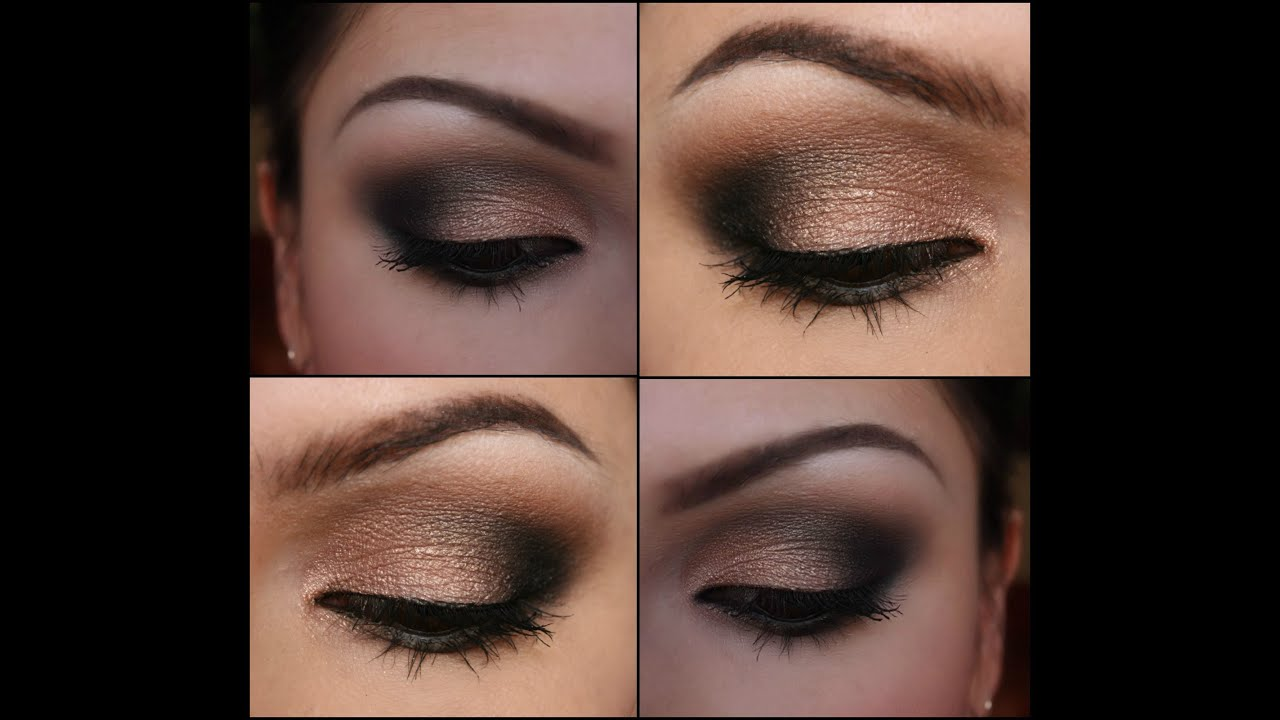 Dramatic black and shimmery nude makeup tutorial youtube dramatic black and shimmery nude makeup tutorial baditri Gallery