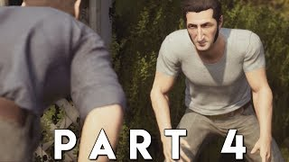 A WAY OUT Walkthrough Gameplay Part 4 - FUGITIVES (PS4 Pro)