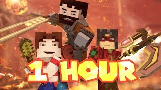 """""""Me Against The World"""" 1 HOUR - A Minecraft Original Music Video ♪"""