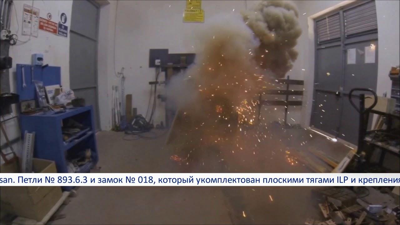 Download Взрыв электрощита. Испытание промышленной фурнитуры Essentra- Mesan на взрывоустойчивость. Шок