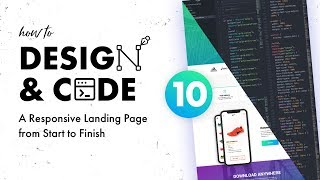 10 - Design & Code a Responsive Landing Page from Start to Finish | Coding the Download Section