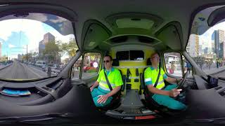 Meerijden met AZRR: Spoedrit in de ambulance (voorin)