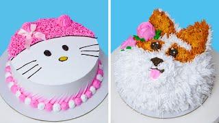 So Yummy Cute Cakes Recipes  Creative Colorful Cake Decorating Ideas  Tasty Buttercream Cakes