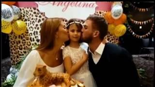 Виктория Боня показала кадры с прошедшего дня рождения дочери))