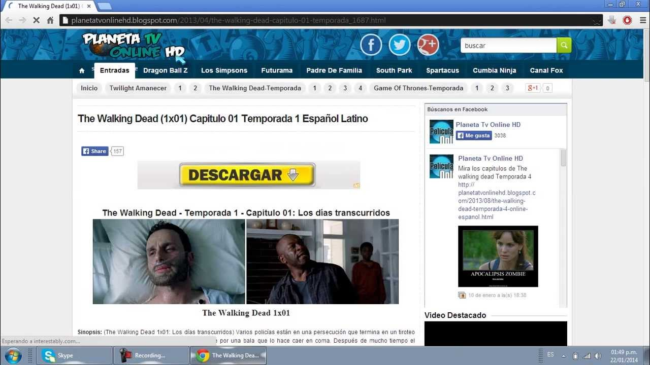 Ver todos las temporadas de the walking dead en audio latino - YouTube