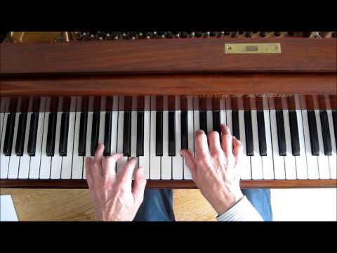 Piano Lesson (live) Change Partners, by Irving Berlin, chord and voicing analysis