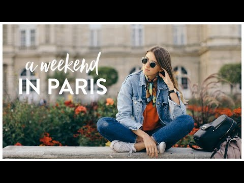 10 Steps to The Perfect Weekend in Paris | Kat's Films | #AirFranceToParis