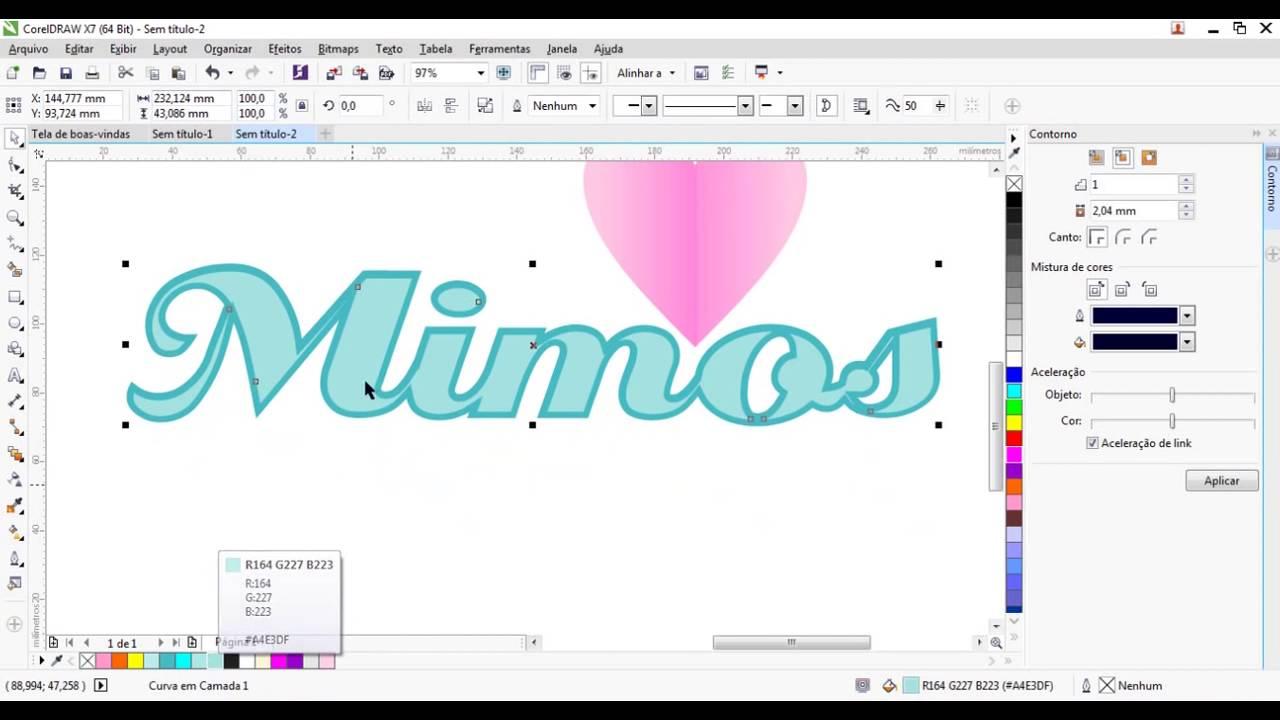 Curso De Corel Draw Online - Corel Draw Fácil & Profissional