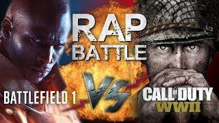Рэп Баттл - Call of Duty: WWII vs. Battlefield 1 (140 BPM)