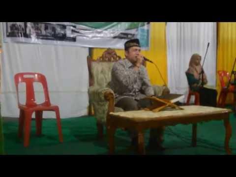 H.Darwin Hasibuan maulid Nabi 2015 mesjid Jami' kel.limau sundai kota Binjai