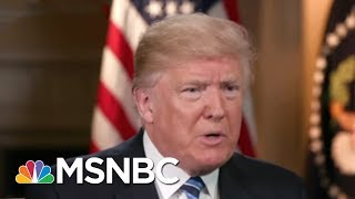 President Donald Trump Says 'Slippery' James Comey Not Fired Over Russia | Morning Joe | MSNBC