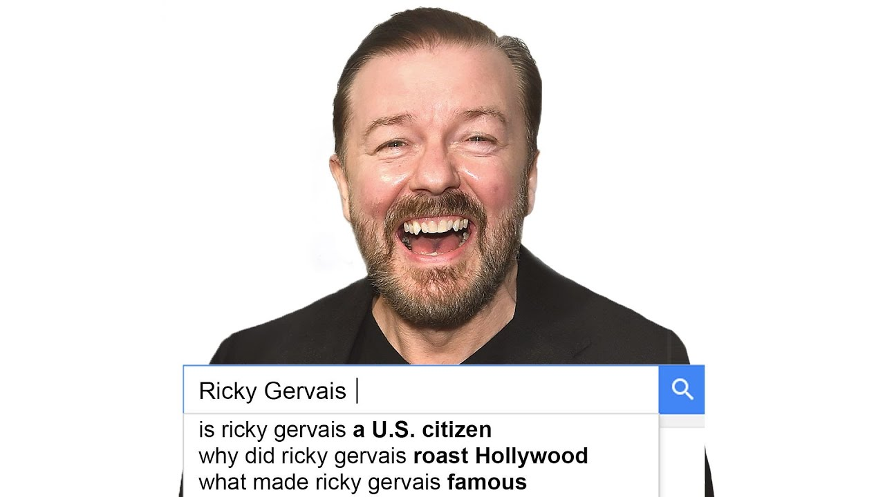 Ricky Gervais Answers the Web's Most Searched Questions