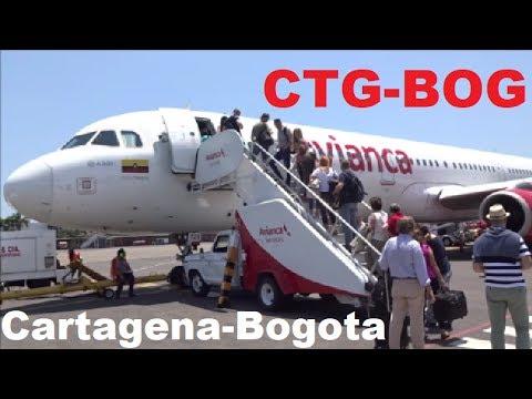 Avianca A321 Cartagena - Bogota | Vuelo Completo