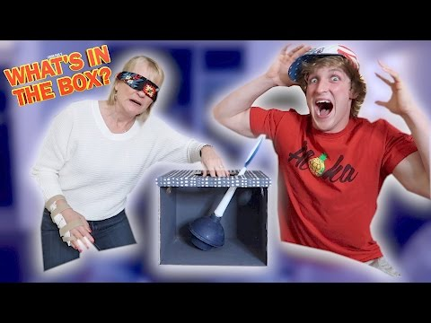 Thumbnail: WHAT'S IN THE BOX CHALLENGE! (Feat. My Mom)