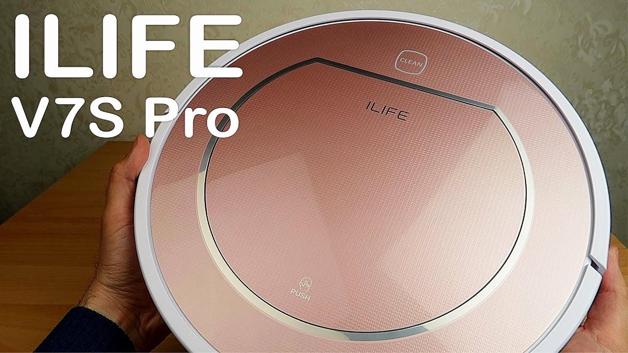 Робот пылесос ILIFE V7S Pro — большой и тихий! Какой робот пылесос выбрать?