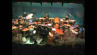 Percussion Symphony, Movement III by Charles Wuorinen - Peter Jarvis, Conductor