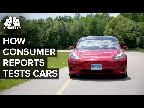 The Tests Consumer Reports Puts Cars Through | CNBC