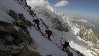9951_#2 Mont-Blanc 2013 voie normale Refuge de Tête Rousse Refuge du Goûter
