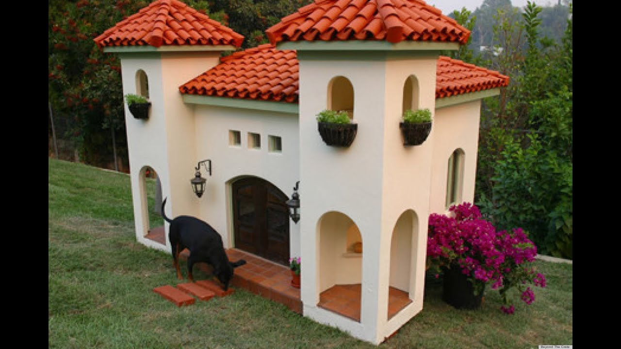 dog house plans for large dogs - youtube