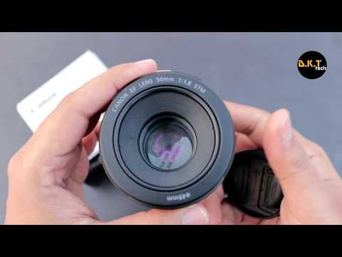 Canon 50mm 1.8 stm Lens full review | With...