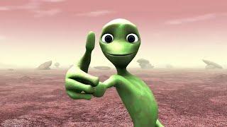 Танец зелёного человечка|Green man dance