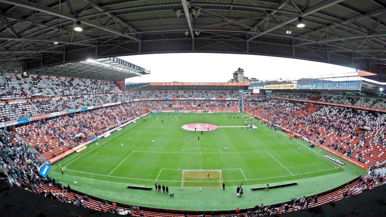 Timelapse el molin n youtube - Estadio del sporting de gijon ...