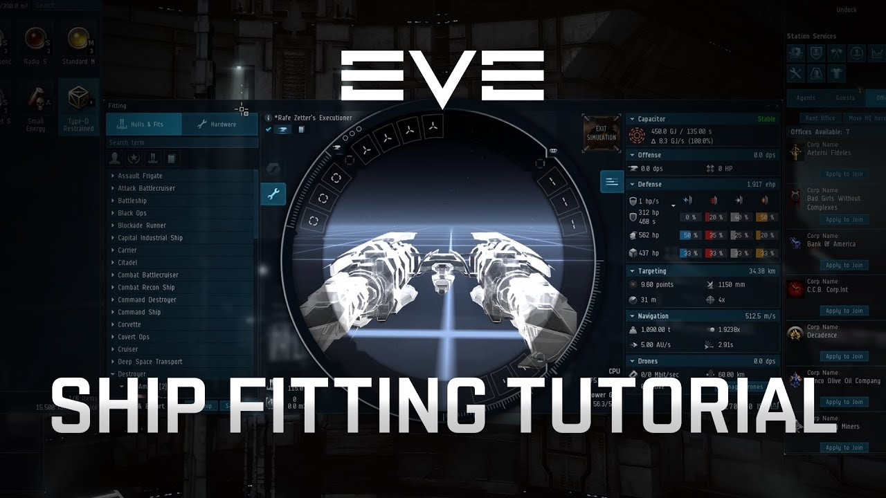 EVE Online - Ship Fitting [Tutorial]