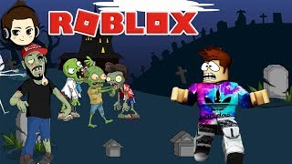 ROBLOX INDONESIA | FIGHT MAMANK ZOMBIE