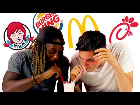 Fast Food Milkshake Taste Test