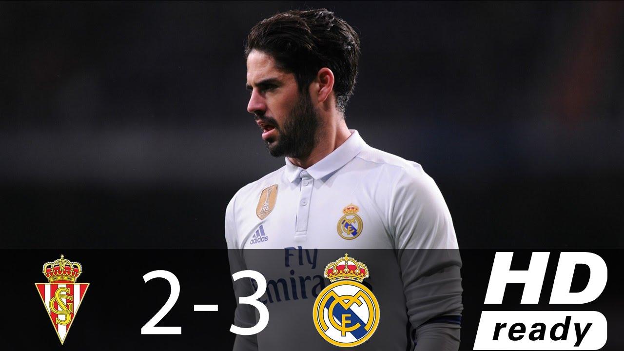 Download Sporting Gijon vs Real Madrid 2-3 - All Goals & Extended Highlights - La Liga 15/04/2017 HD