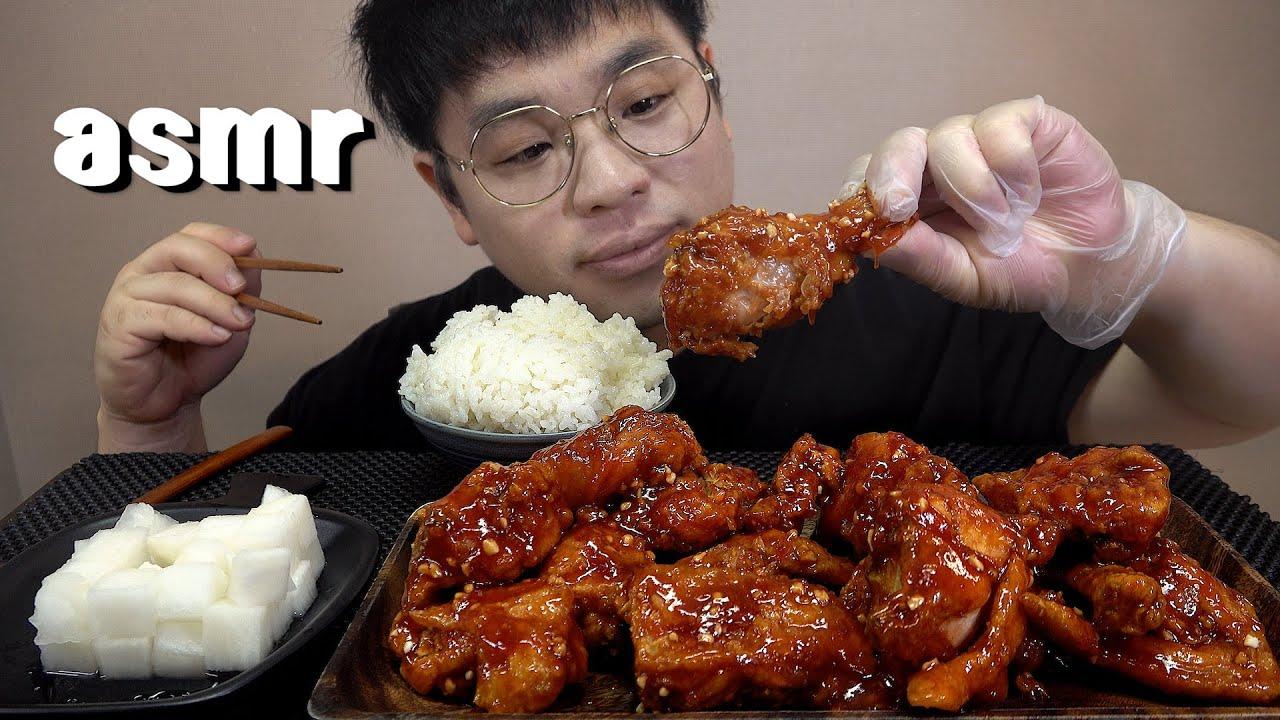 먹방창배tv 추억의 올레치킨기억하시나요 먹어봅시다 Korean style chicken mukbang Legend koreanfood asmr