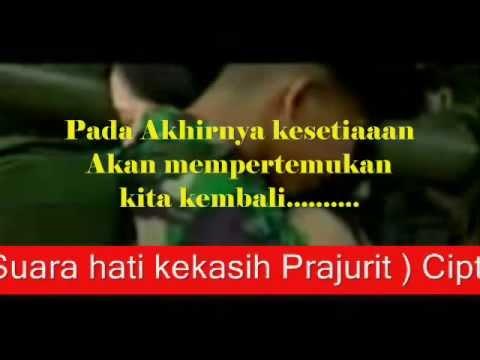 lagu TUNAIKAN TUGASMU suara hati kekasih prajurit)Cipta kopda Puji dan Prada Imam YONIF 400 RAIDER