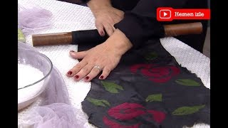 Arzu Karagöz'den keçe şal yapımı Ezgi Sertel'le Kadınlar Bilir'de