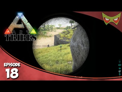 Ark: Tribes - Ep 18 - PVP Battle! - Let's Play On Pooping Evolved