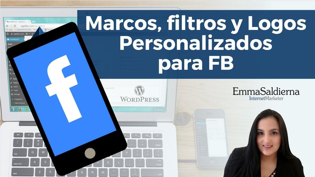 Cómo hacer marcos para Facebook personalizados (Facebook Frames ...