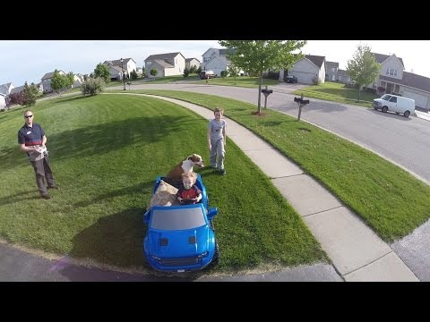 Dji Phantom Quadcopter Training- Following A Moving Object