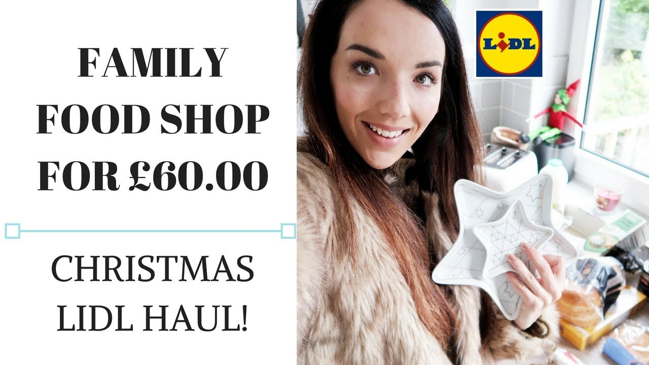 LIDL HAUL | FAMILY FOOD HAUL