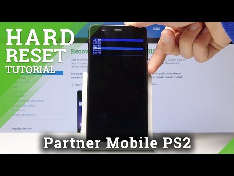 How To Perform Hard Reset On PHILIPS S318 - Bypass Screen Lock / Clear EMMC