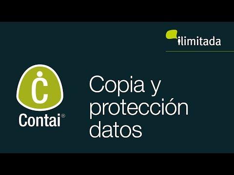 Contai® - Copia de seguridad y Protección de periodos