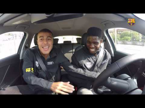 BEHIND THE SCENES – FC Barcelona & Audi experience