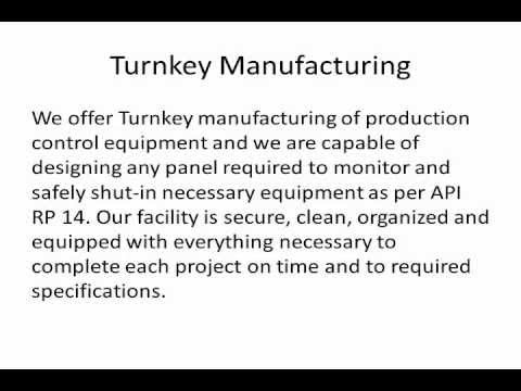 Instrument Fitters Control Panel Design & Manufacturing