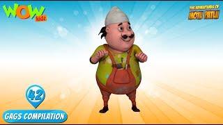 Motu Patlu - Funny Gags #42 - 1 hour episodes!