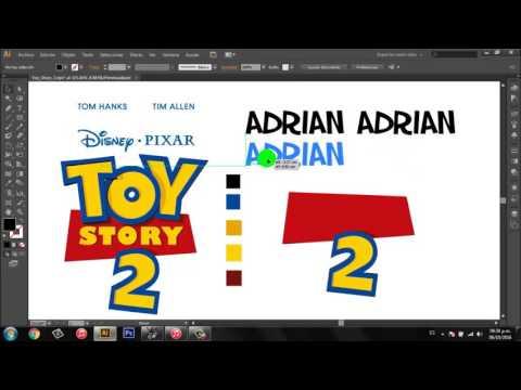 Personalizar logo de ToyStory