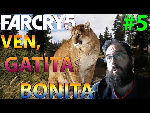 FAR CRY 5 #5 LAS CHUCHES DE PEACHES! VEN GATITA BONITA!