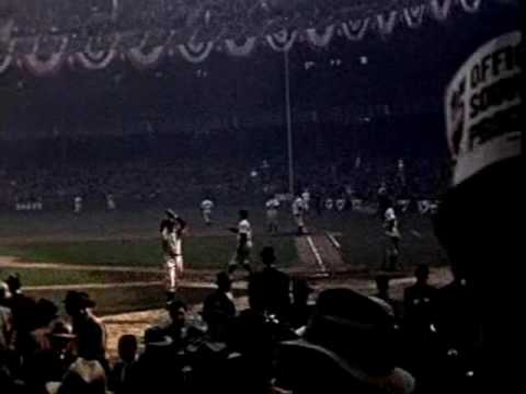 1939 World Series color footage