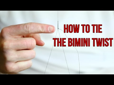 How To Tie The Bimini Twist Fishing Knot: Quick and Easy Method
