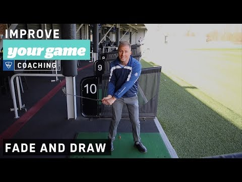 How to fade and draw - Golf Lessons with Topgolf