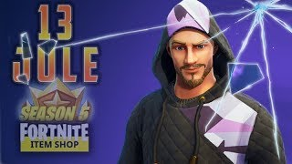 13 JULY - DAILY ITEM SHOP FORTNITE - NEW [Moniker] & [Fortune] Skin